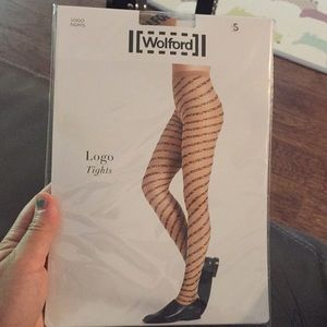 Wolford Logo tights. S